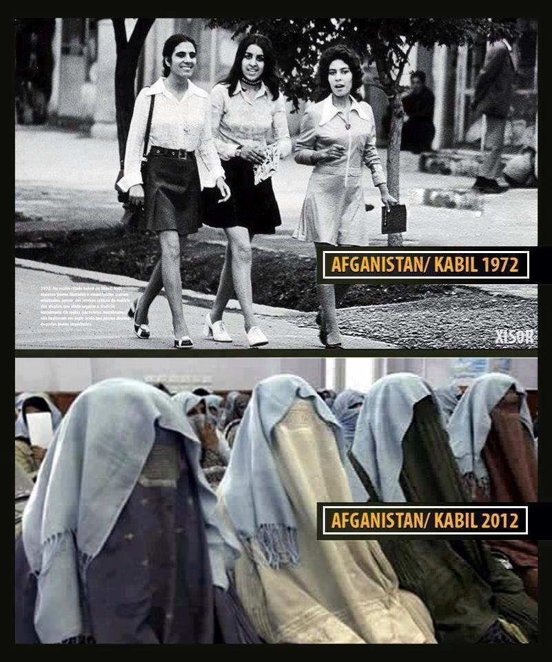 women then together with now