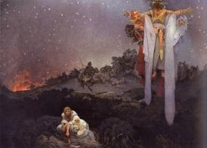 Alphonse Mucha Slovane v pravlasti