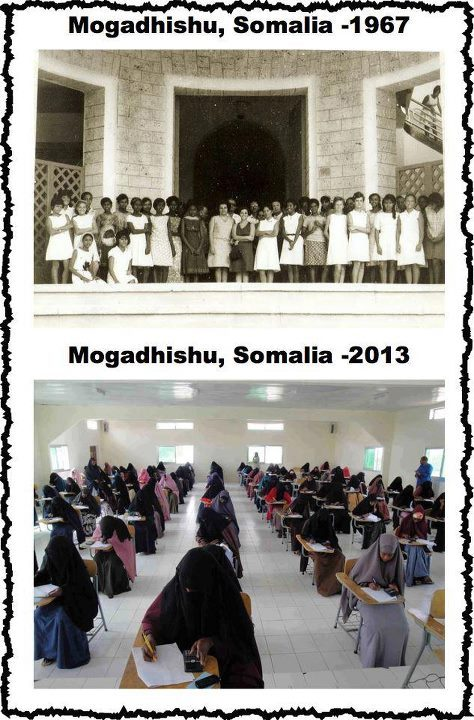 Somalian Women: Then and Now